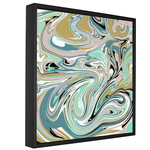 Paint Swirls Pt.2 -  Float Framed Canvas - HusLiving