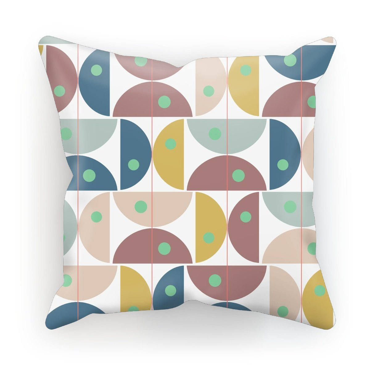 Half Circles Dots Cushion - HusLiving