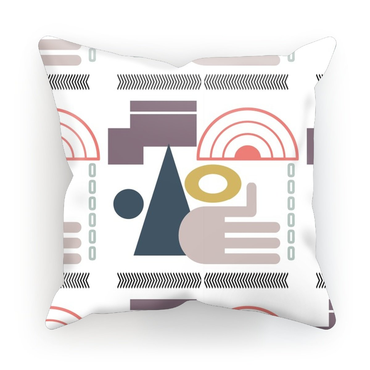 Modern Abstract Shapes Cushion - HusLiving
