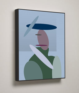 Contemporary Woman, Surface Frame - HusLiving
