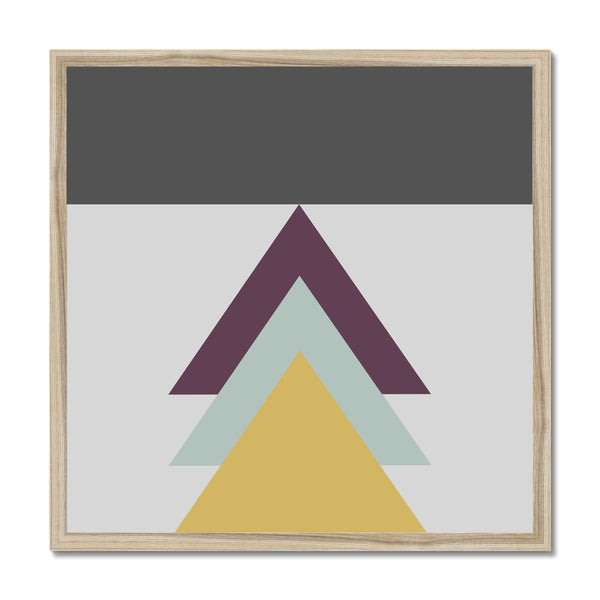 Arrows Up Framed Print - HusLiving