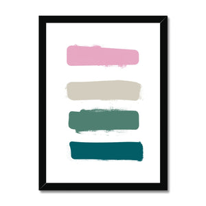 Paint Samples Framed Print - HusLiving