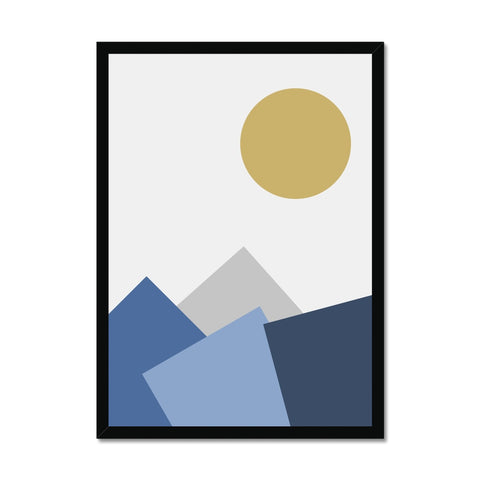 Mountain Scape Framed Print - HusLiving