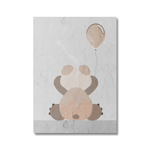 Stone Bear Canvas - HusLiving