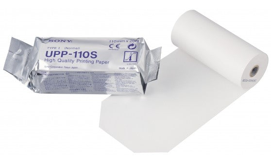 ULTRASOUND Thermal Sony Printer Paper UPP-110S Black & White Thermal Paper