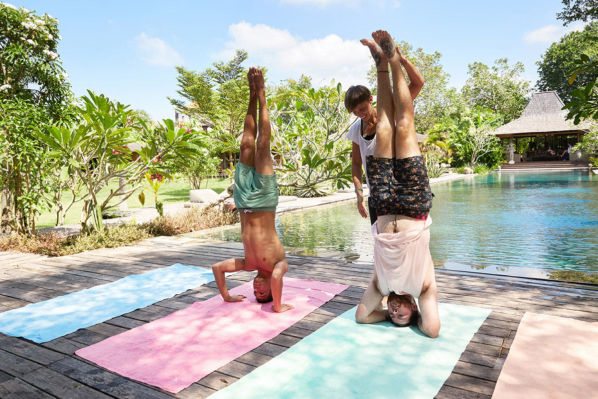 Eco Towels for Yoga Bali