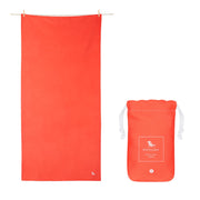 microfiber travel towels red quick dry towel with pouch