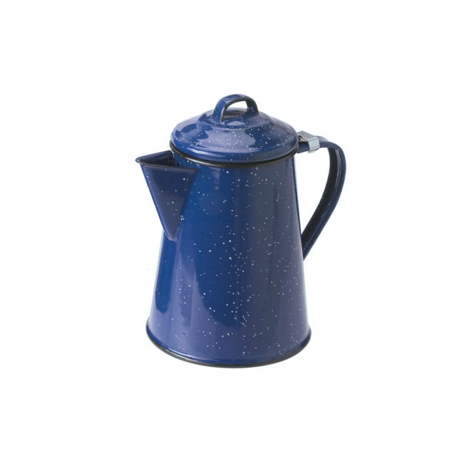 6 Cup Coffee Pot- Blue