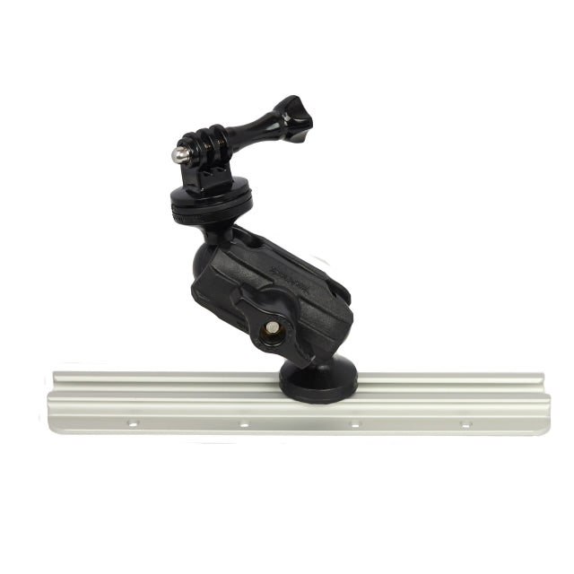 "Articulating Pro Camera Mount, Includes 1/4""-20 mount and GoPro"
