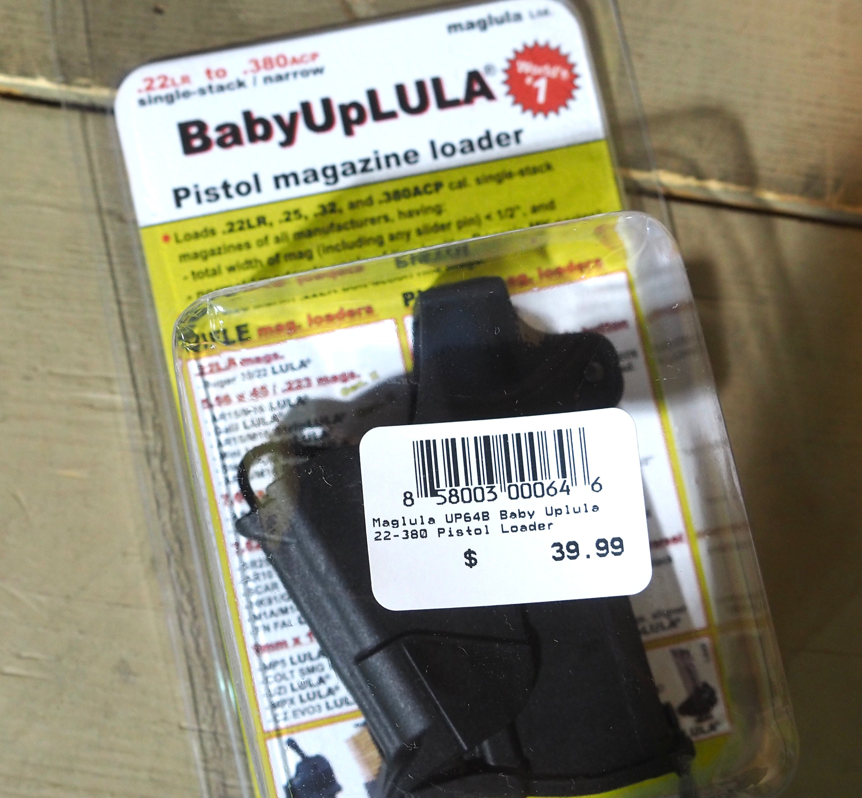 Baby Up LULA Pistol Magazine Loader