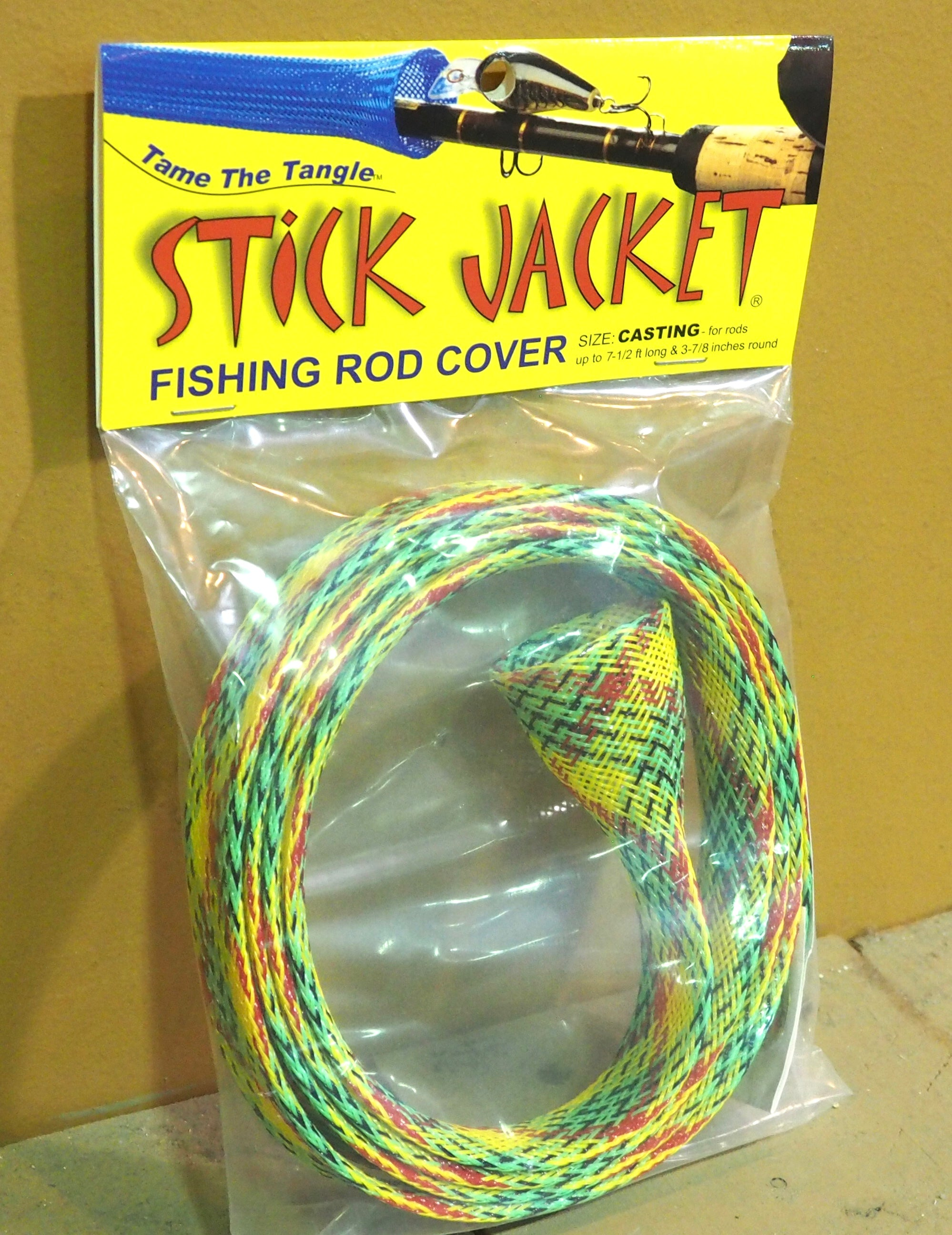 Stick Jacket Fishing Rod Covers Casting Size