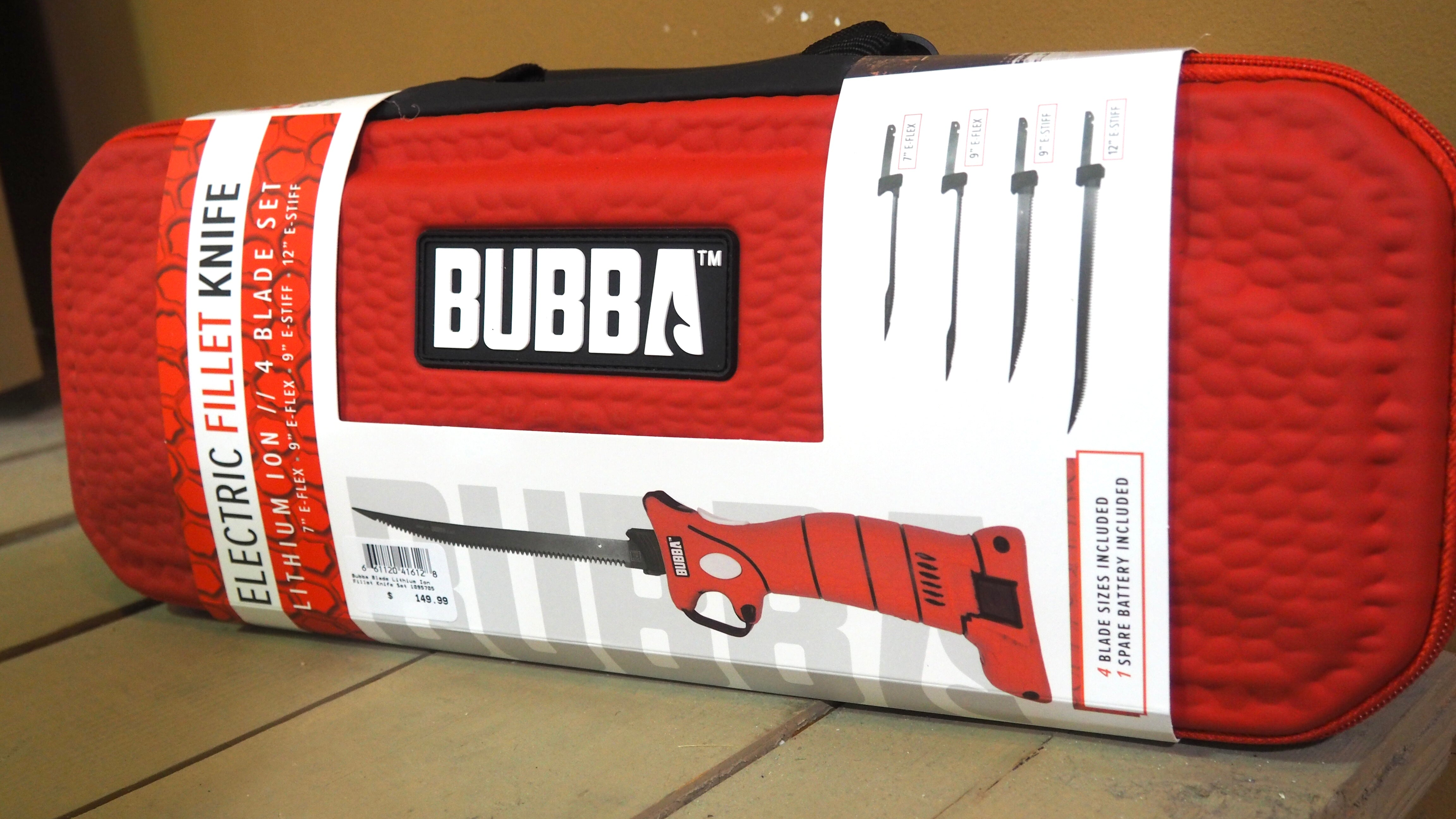 Bubba Electric Fillet Knife 4 Blade Set