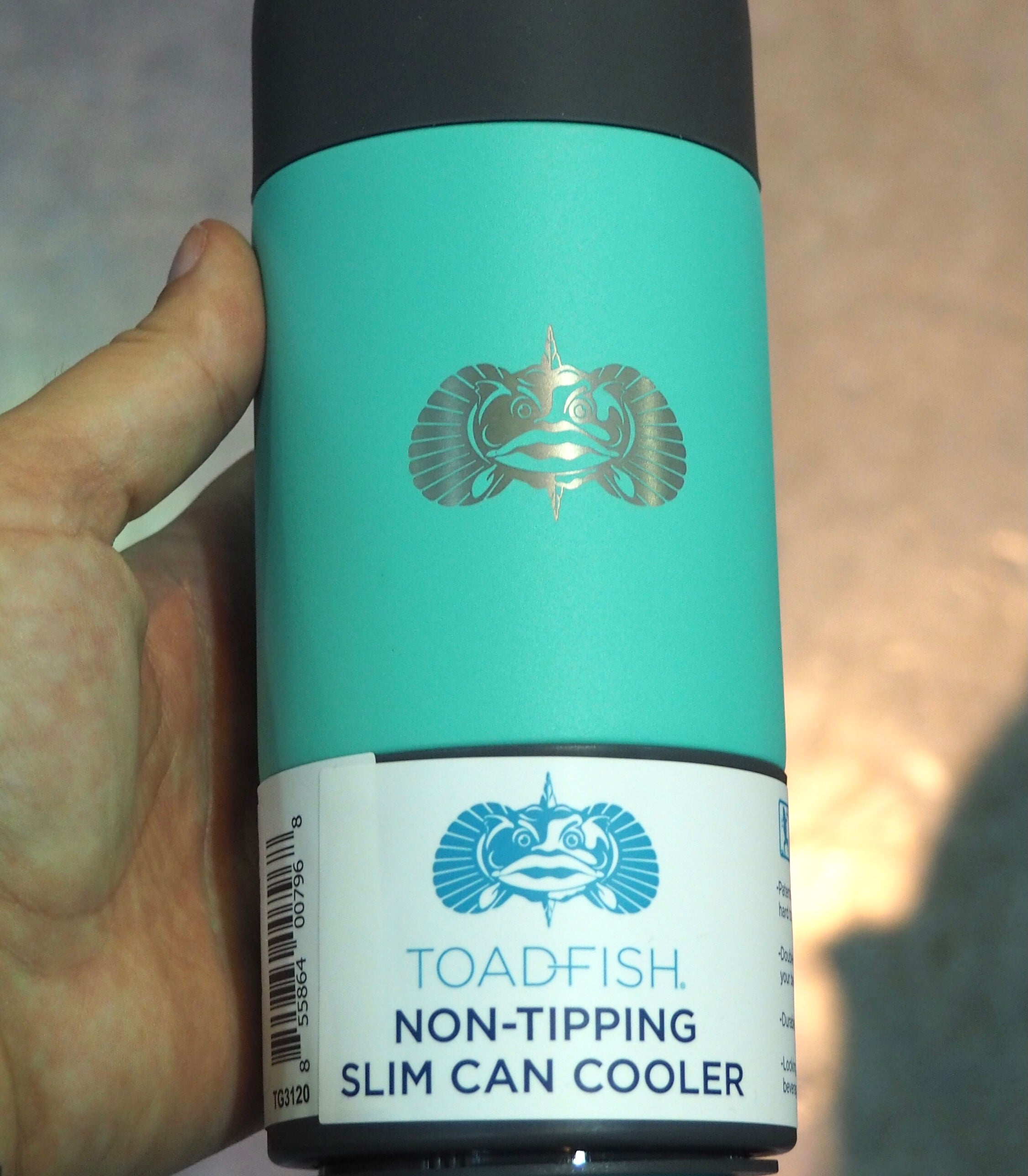 Toadfish Non-Tipping Slim Can Cooler