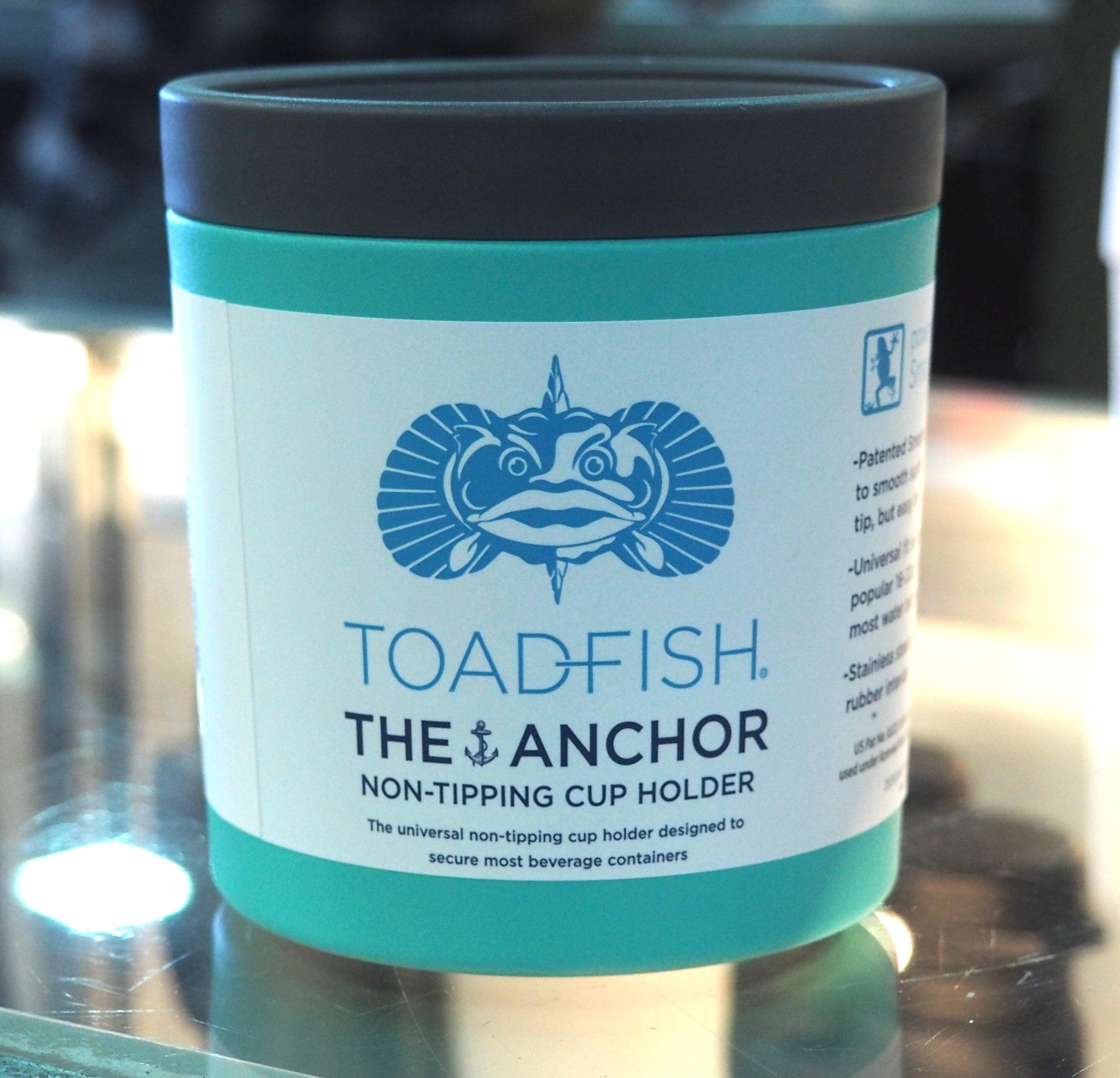 Toadfish The Anchor Non-Tipping Cup Holder