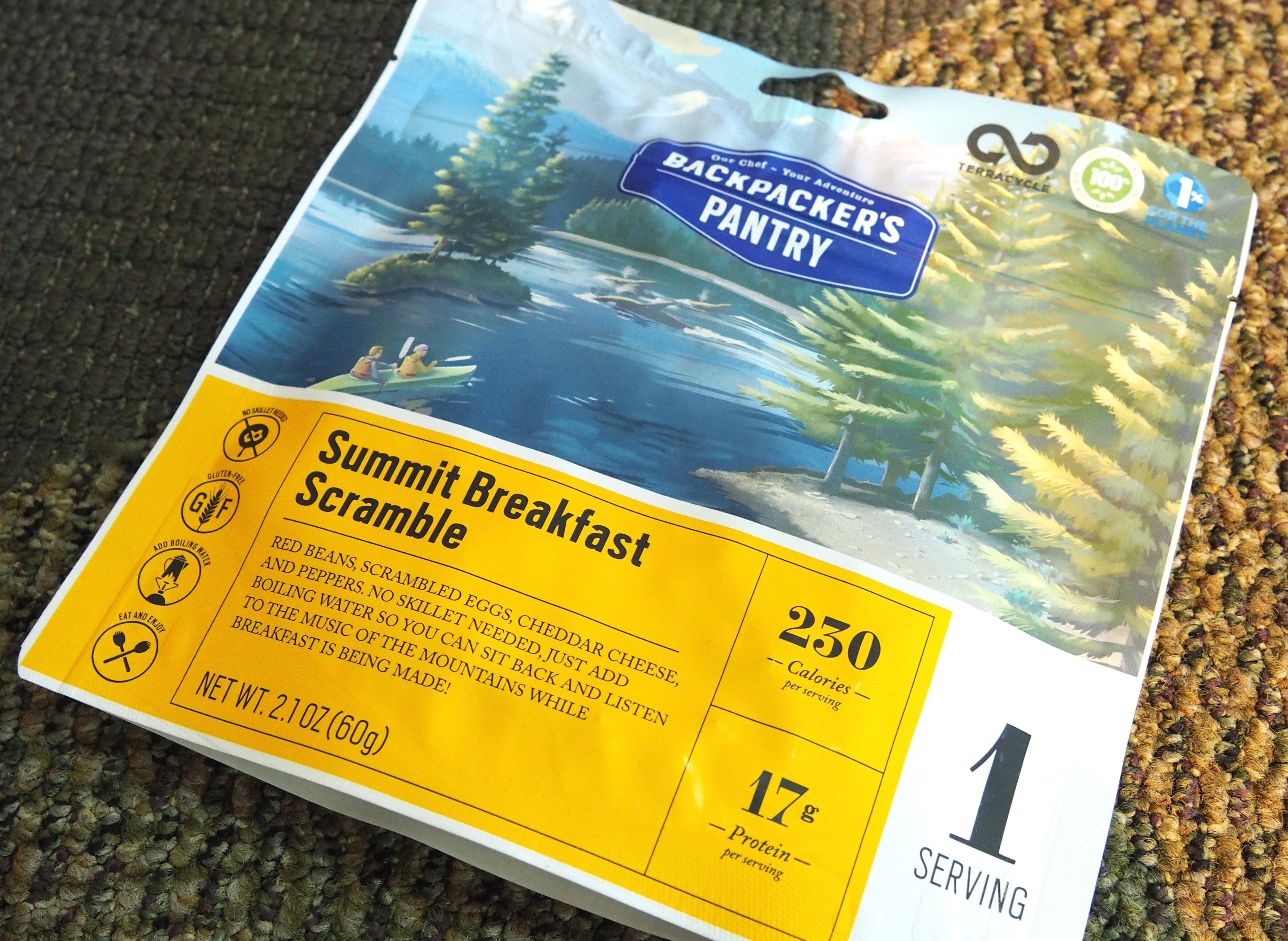 Backpacker's Pantry Freeze Dried and Dehydrated Food