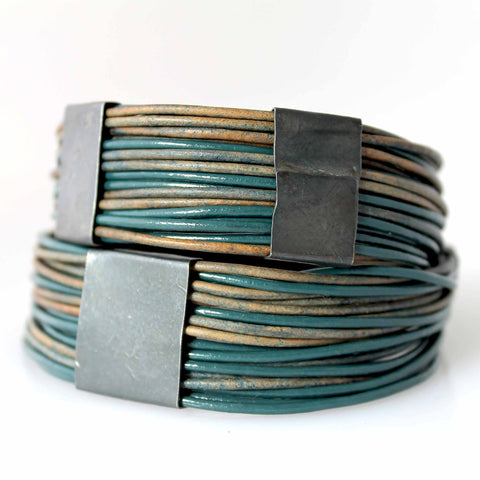 Organica Leather Wrap Bracelet No.03 _ Earth