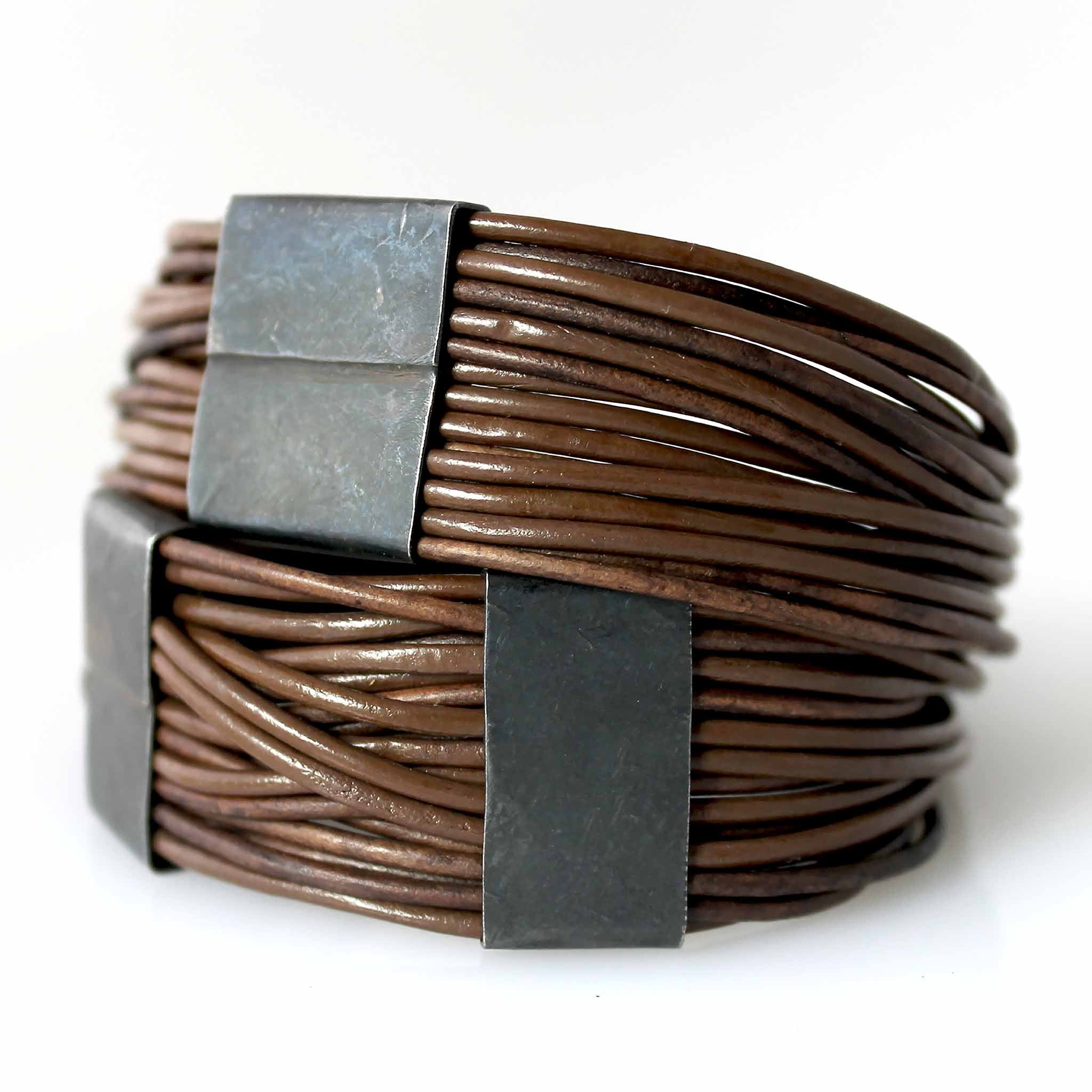 Organica Leather Wrap Bracelet No.03 _ Mocha
