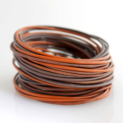 Organica Leather Wrap Bracelet No.07 _ Desert