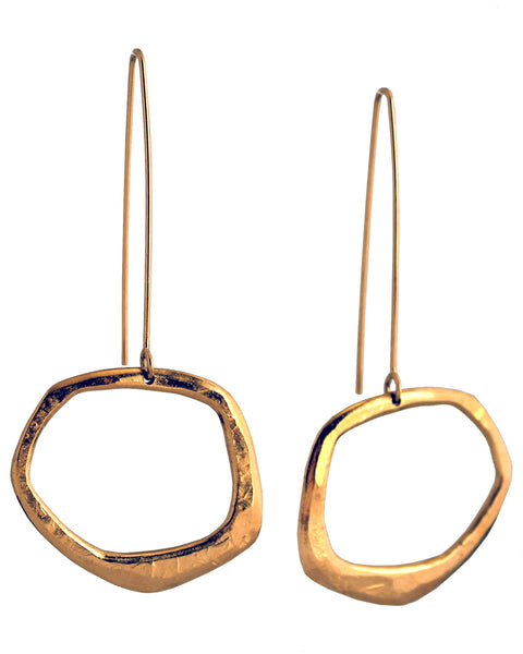 Retro Organica Earrings No.15