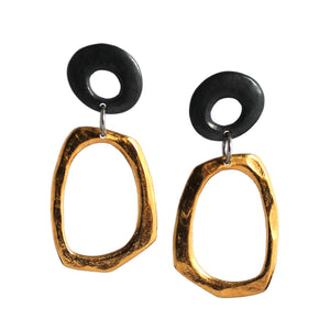 Retro Organica Earrings No.26