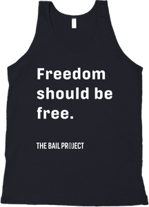 Freedom should be free.® Tank
