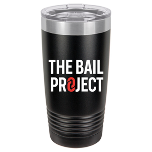 The Bail Project Logo Tumbler 20oz