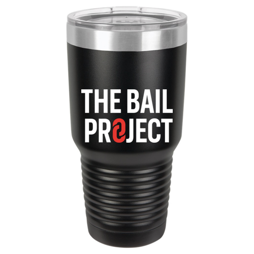 The Bail Project Logo Tumbler 30oz