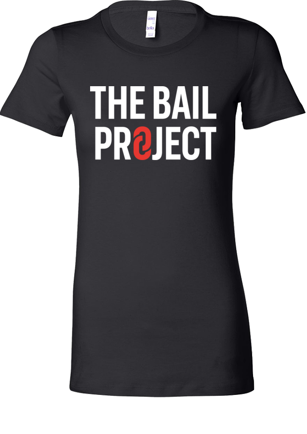 The Bail Project Stacked Logo Fitted Shirt