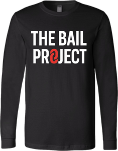 The Bail Project Stacked Logo Long Sleeve