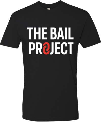 The Bail Project Stacked Logo Shirt
