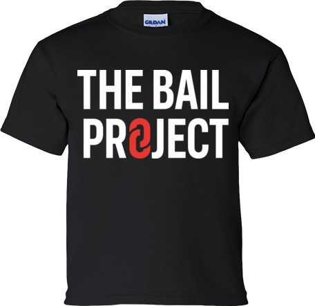 The Bail Project Stacked Logo Youth Shirt
