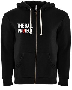 The Bail Project Stacked Logo Zip Up Hoodie