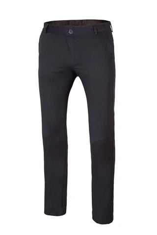 Pantalone Donna Nero in Cotone stretch