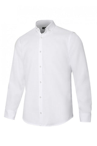 Camicia Oxford stretch Uomo bianca