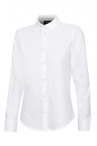 Camicia Oxford stretch Donna bianca