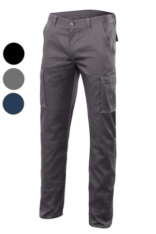 Pantaloni Multitasche Slim Foderati Stretch 425