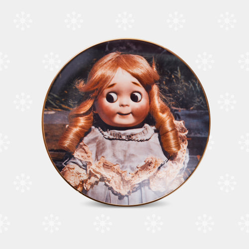 Haunted Doll Plate