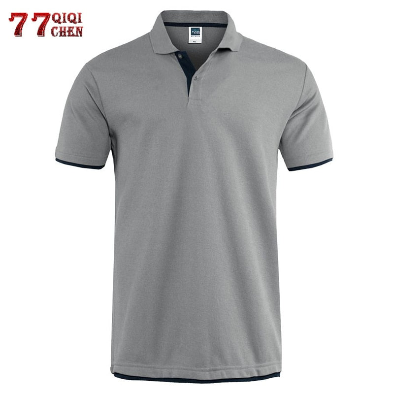 Casual Solid T-Shirt Breathable Luxury Cotton