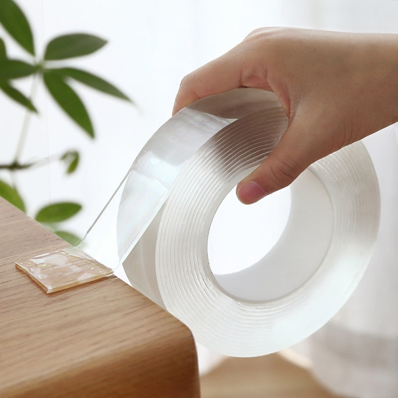 Nano Tape Washable Reusable Double-Sided Tape Adhesive