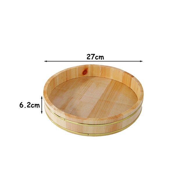 Sushi Containers Wooden Food Trays