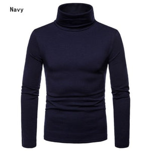 Casual Slim Fit Basic Turtleneck Sweater