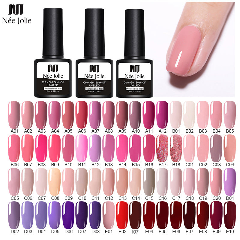 8ml Gel Nail Polish LED UV Gel