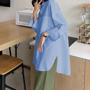 Women's Shirts Stylish Tops and Blouses Asymmetric