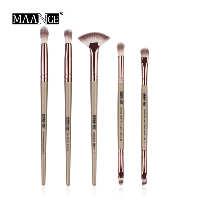 Pro  3/5/12 pcs/lot  Makeup Brushes Set Eye Shadow Blending Eyeliner Eyelash Eyebrow Brushes
