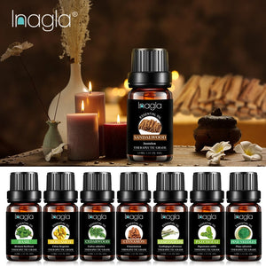 Inagla Sandalwood Essential Oil Pure Natural 10ML Pure Essential Oils Aromatherapy