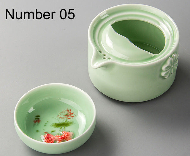 Ceramics Tea set Include 1 Pot 1 Cup, High quality