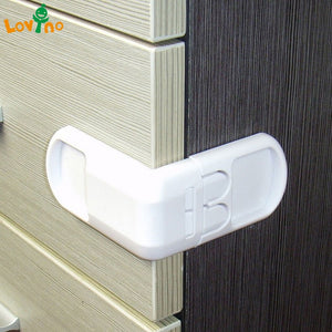 10PCS Drawer lock for children Safety lock baby door Safety buckle Prevent