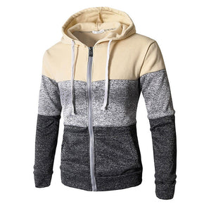 Zip Up Casual Elastic Jacket Outwear Sweater