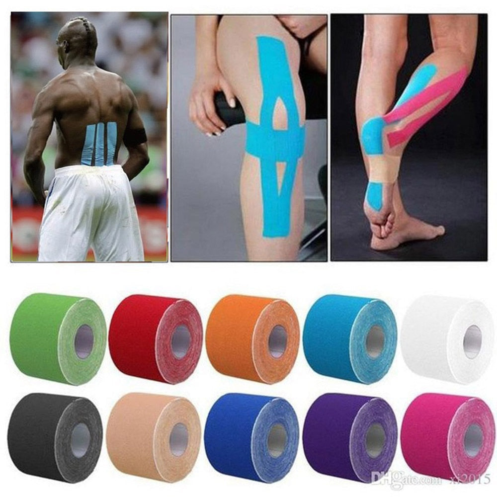 11 color Tape Muscle Bandage 5cm*5m Elastic Adhesive