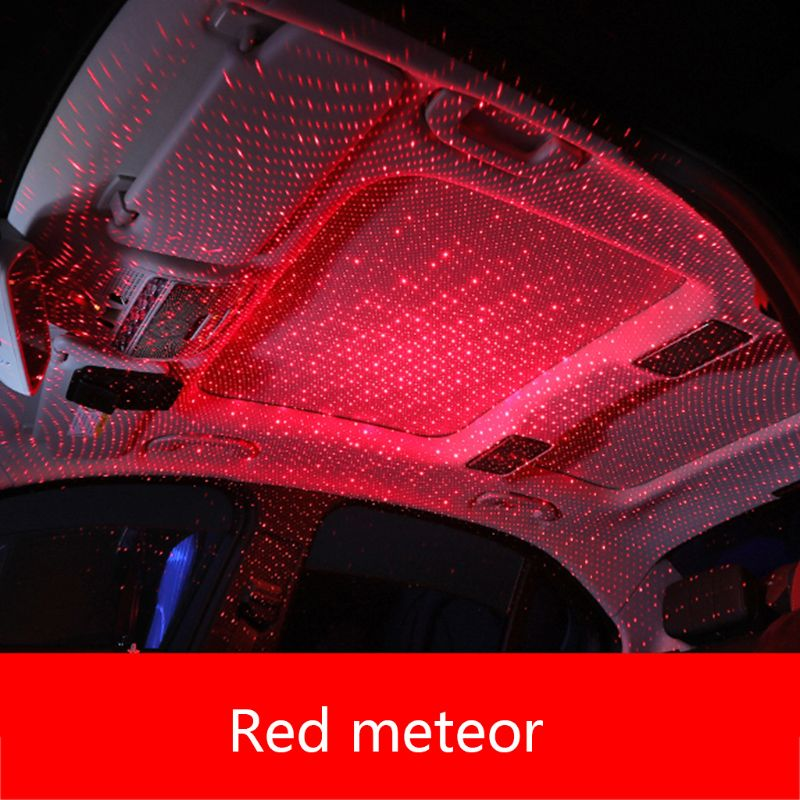 Car USB LED Car Atmosphere Ambient Star Light
